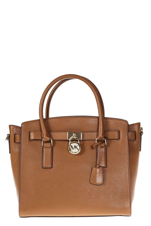 MICHAEL Michael Kors Hamilton Bag In Saffron Leather