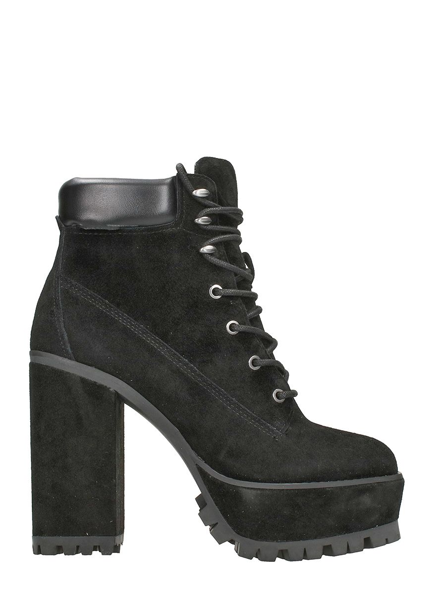 Windsor Smith Black Suede Ankle Boots