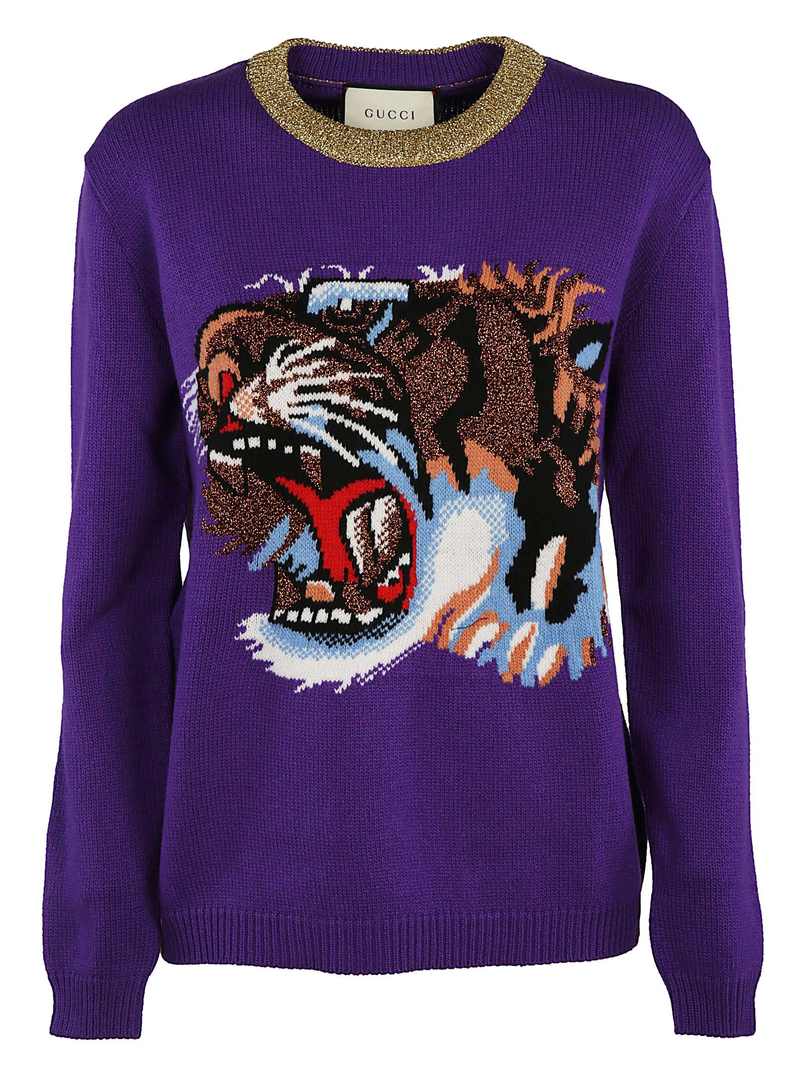 Gucci Tiger Knitted Sweater