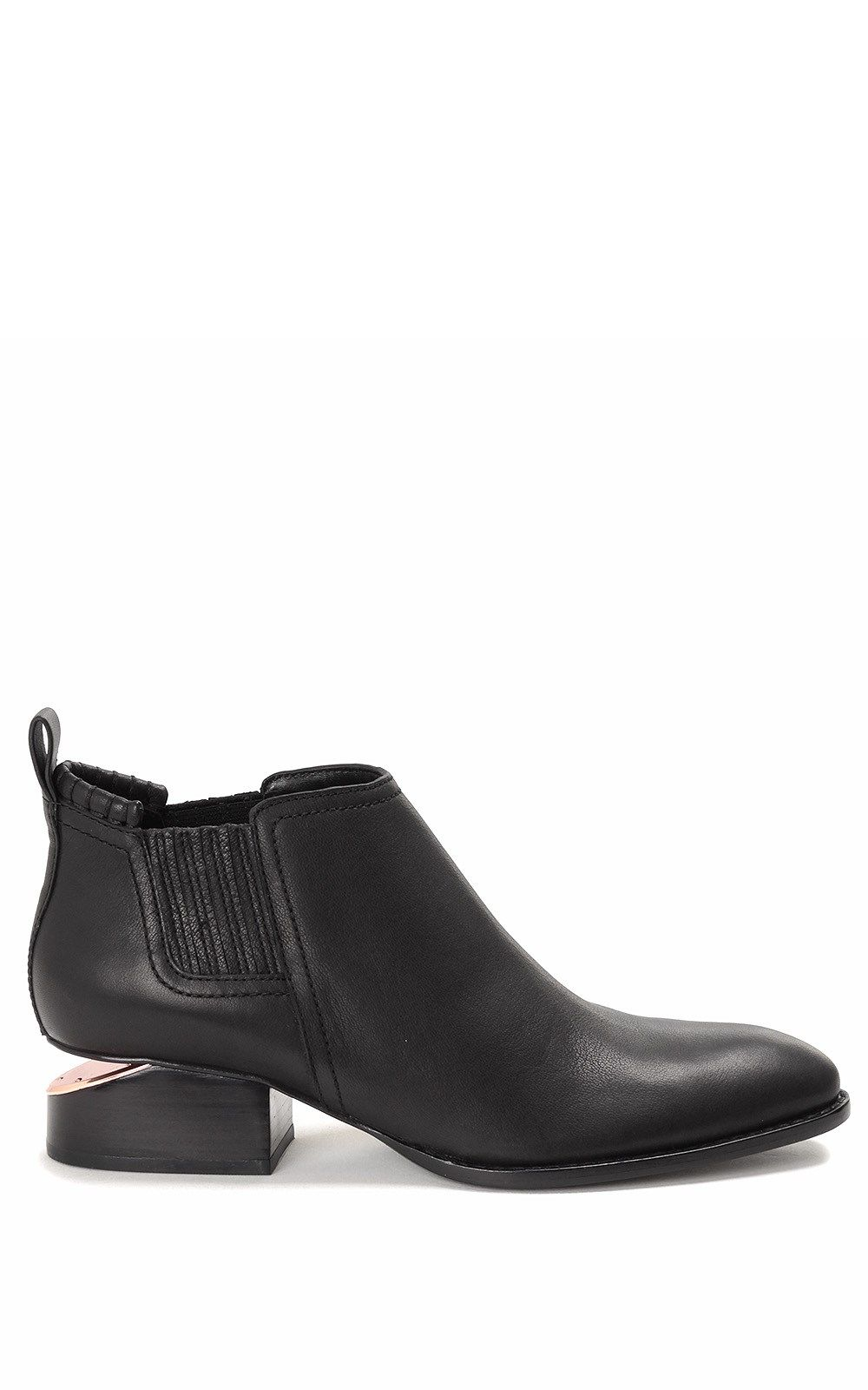 Alexander Wang Kori Cut-out Leather Ankle Boots