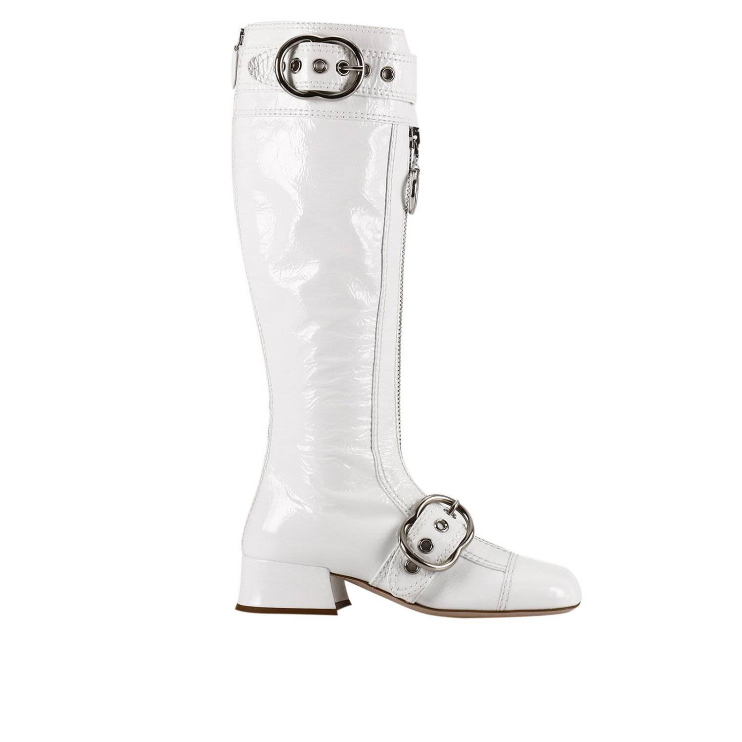 Boots Shoes Women Miu Miu