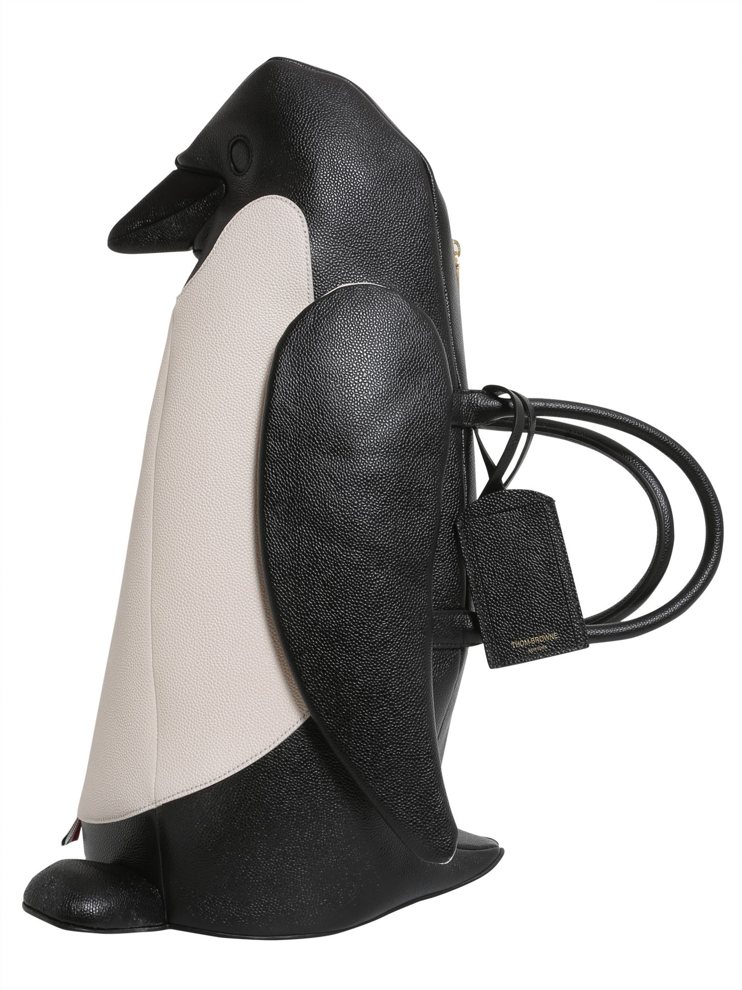 Penguin Shaped Leather Bag