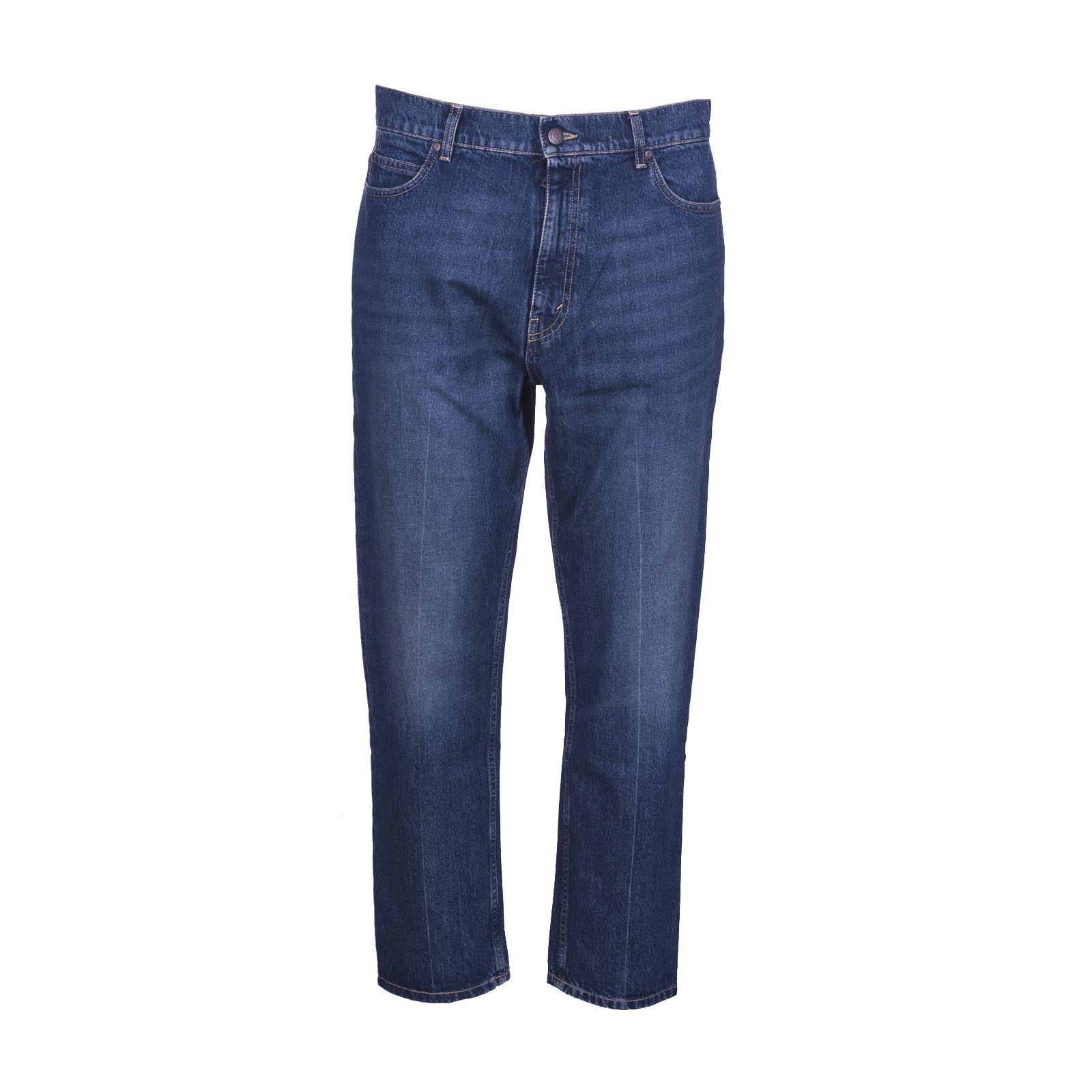 Denzel Slim-Fit Tapered Denim Jeans - Blue