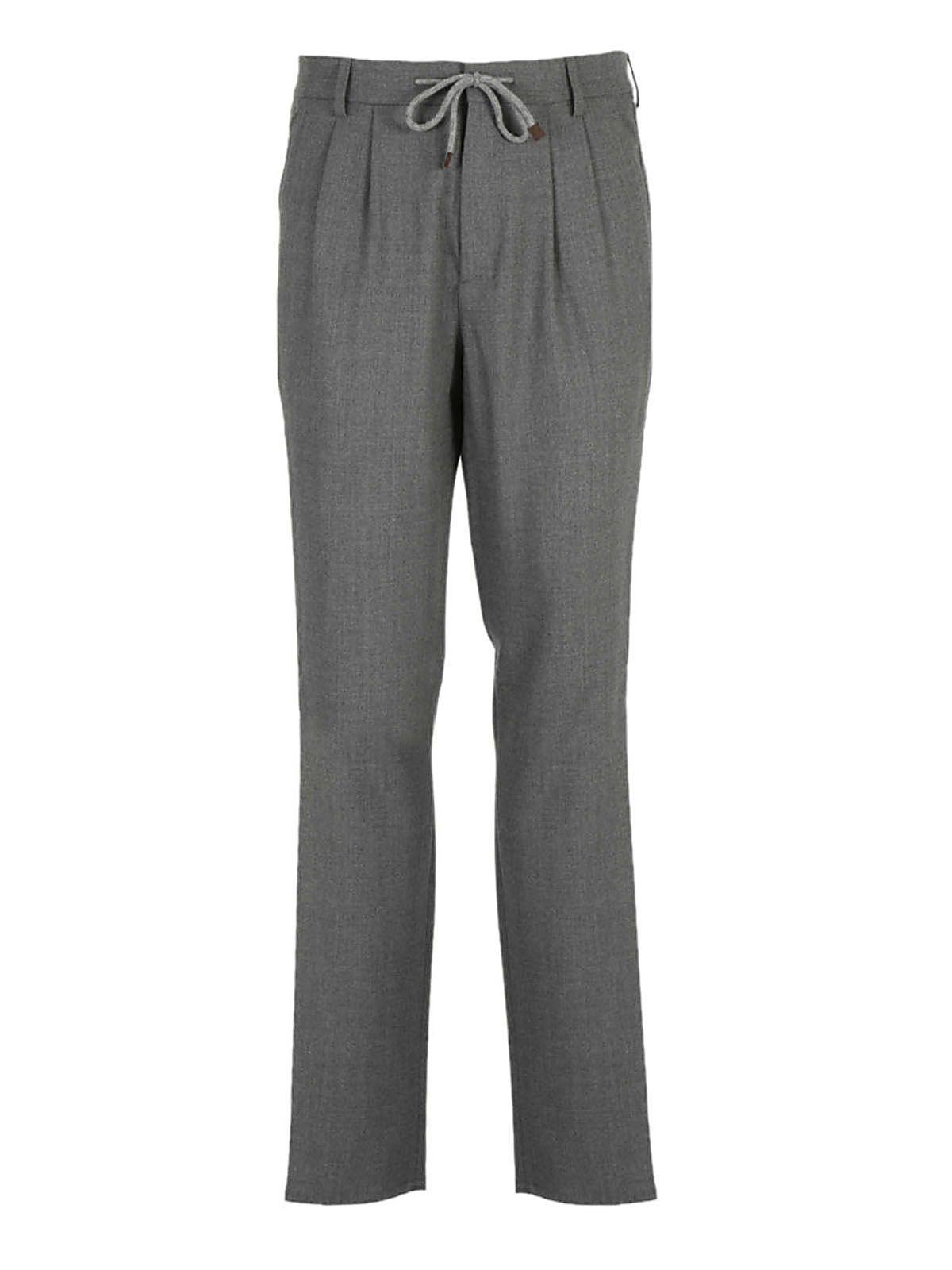 Brunello Cucinelli Drawstring Trousers
