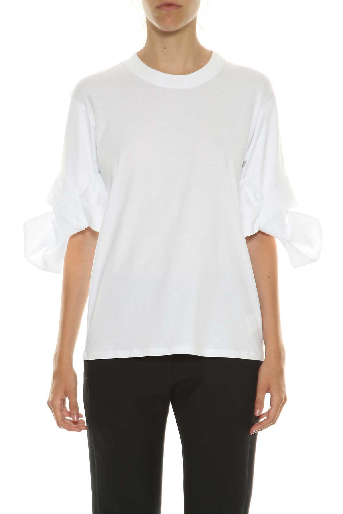 Victoria Victoria Beckham Bow Cuff T-shirt