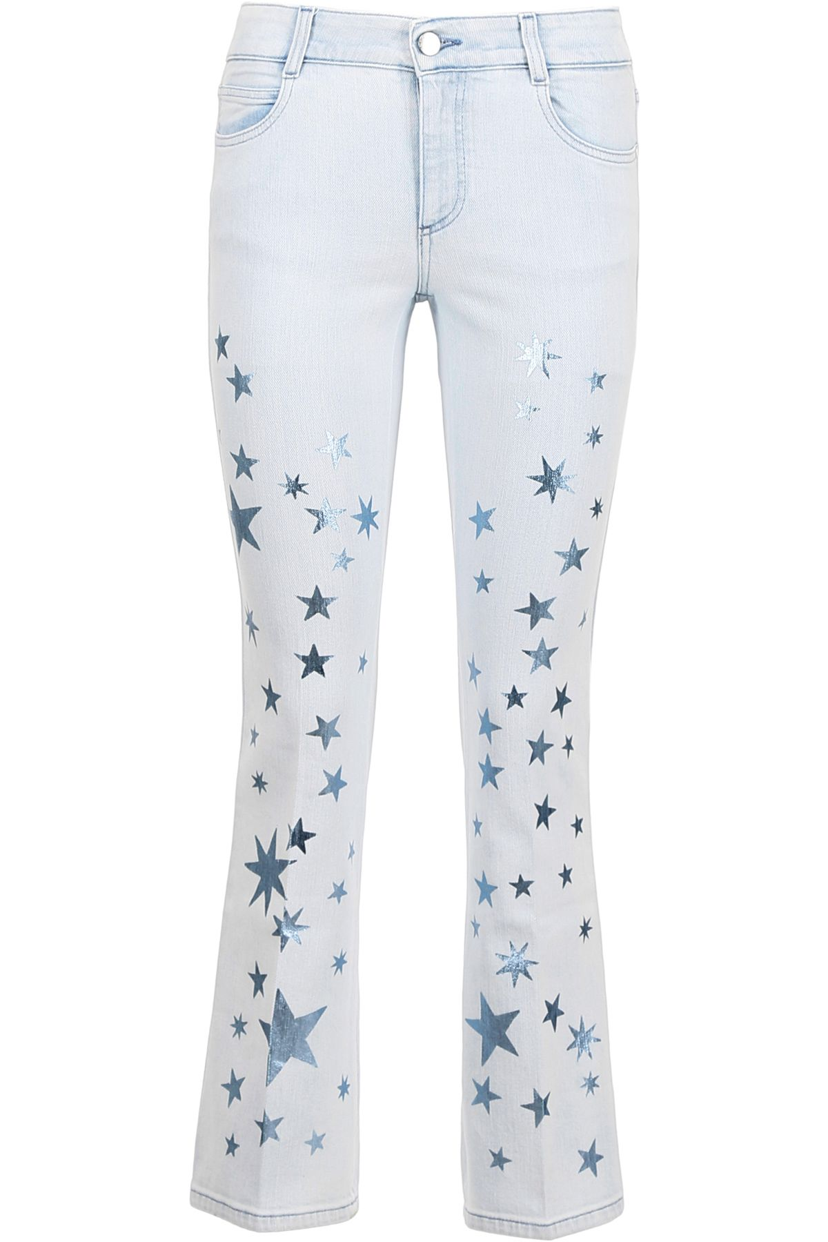 Jeans With Metallic Stars