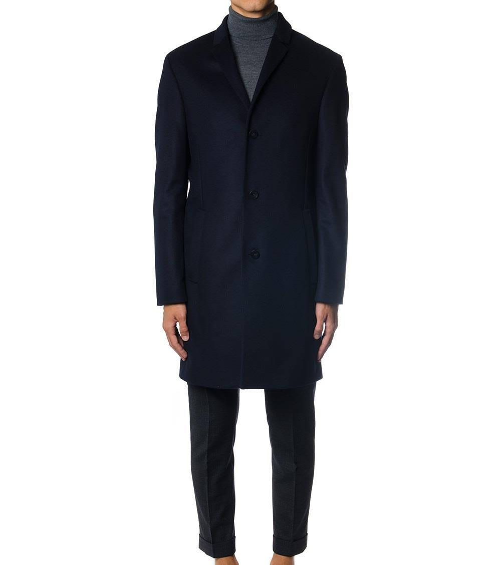 Calvin Klein Carlo Wool-blend Cashmere Coat