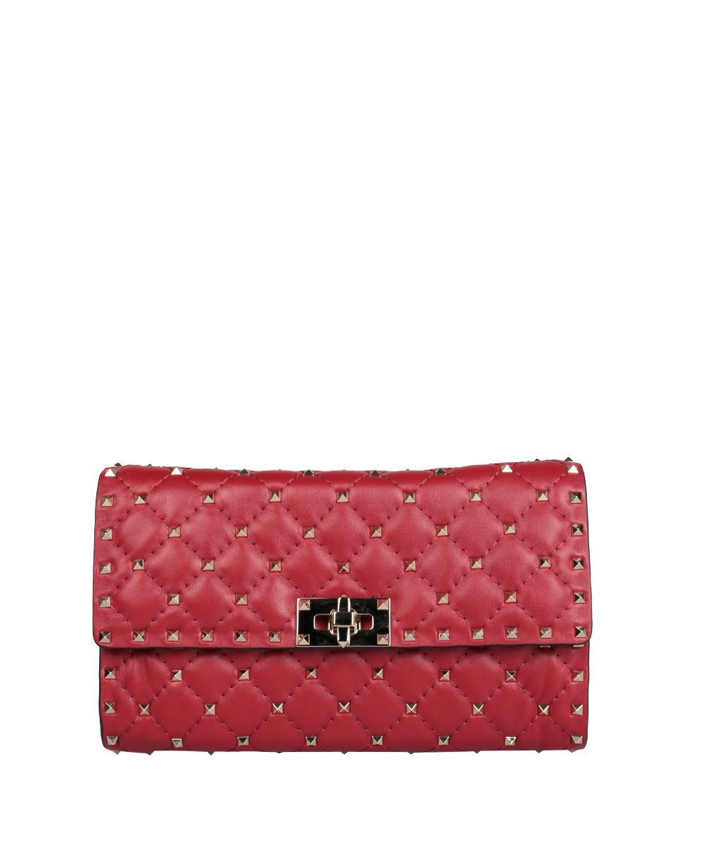 Valentino Garavani Rockstud Spike Leather Bag