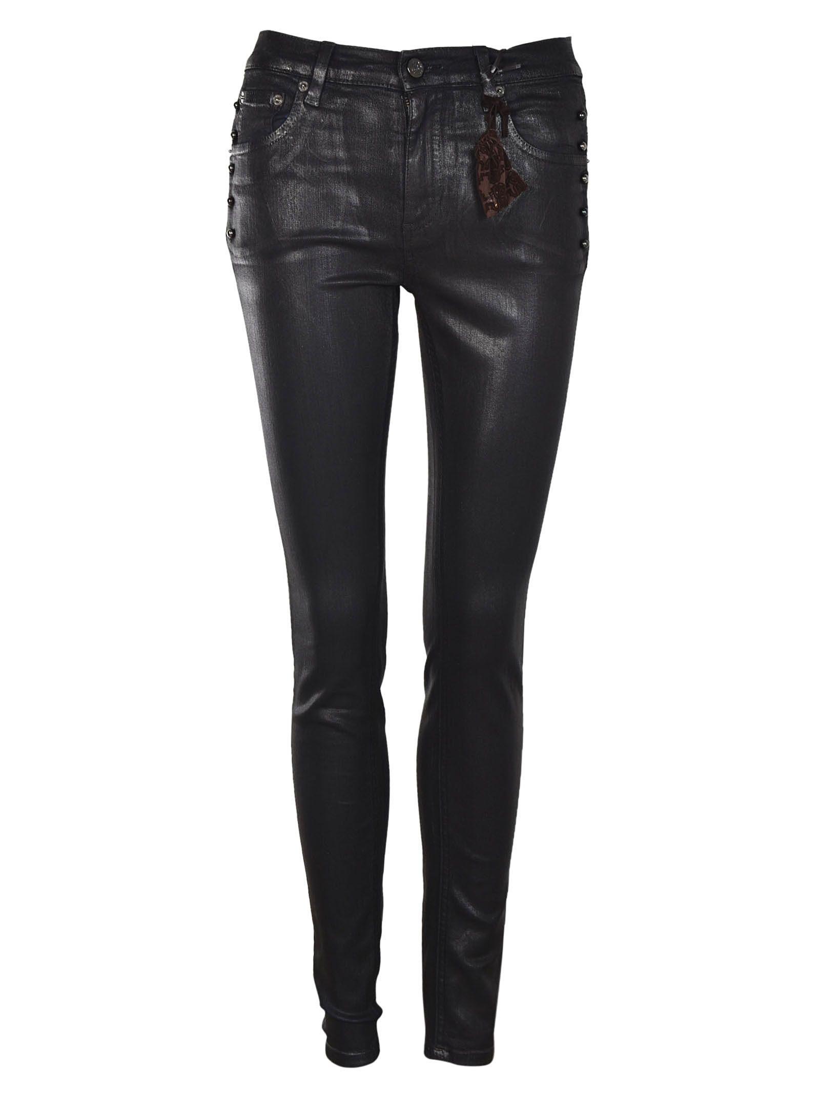 Roberto Cavalli Skinny Piercing Jeans