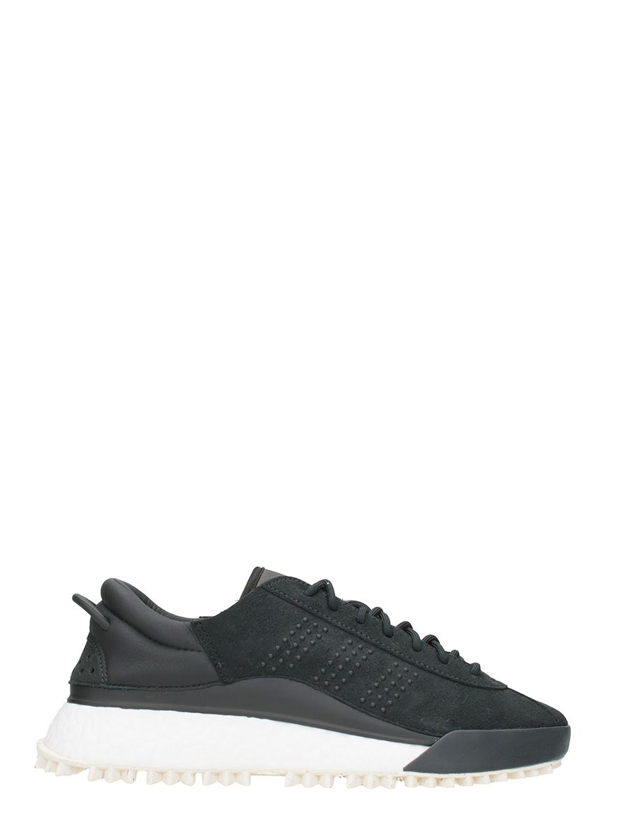 Adidas Original by Alexader Wang Hike Black Suede Sneakers