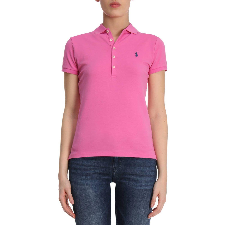 Polo Ralph Lauren T-Shirt T-Shirt Women In Fuchsia  6231fb961