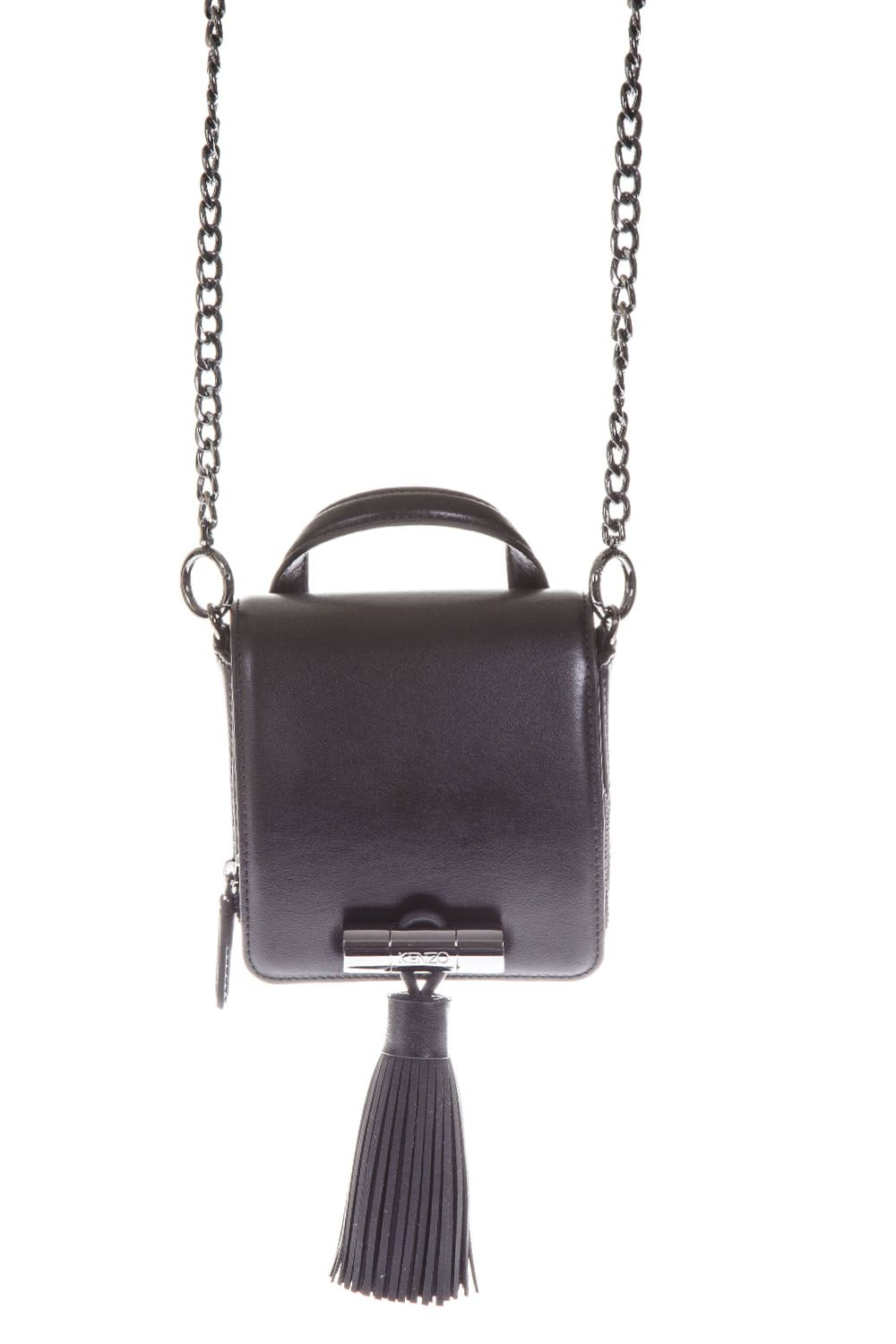 Kenzo Sailor Leather Shoulder Bag