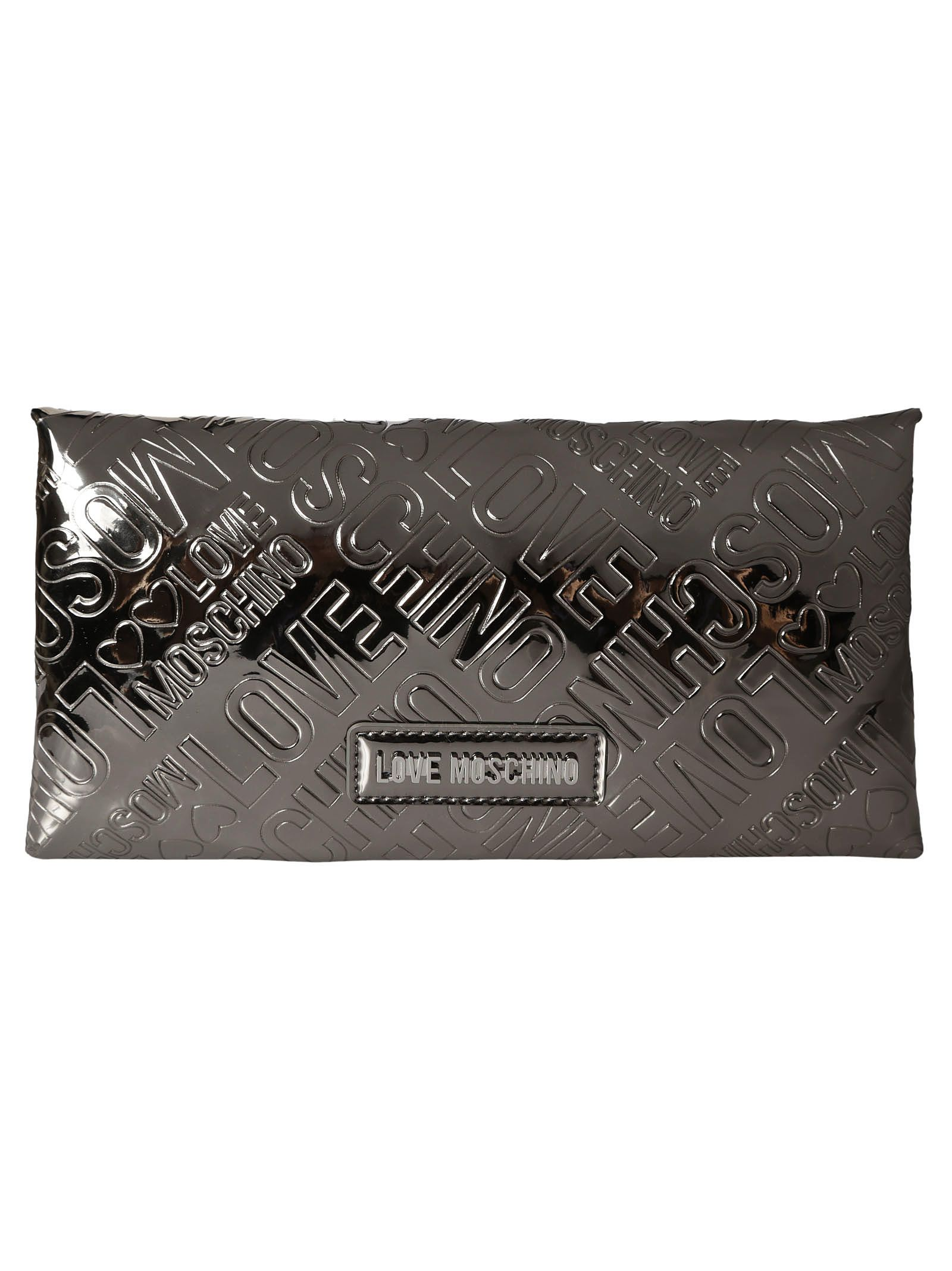Moschino Embossed Logo Continental Wallet