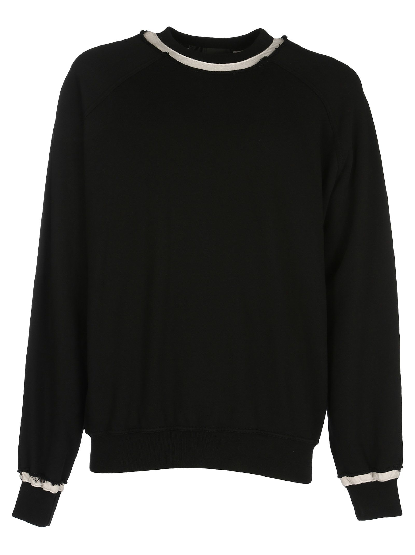 Haider Ackermann Striped Collar Jumper