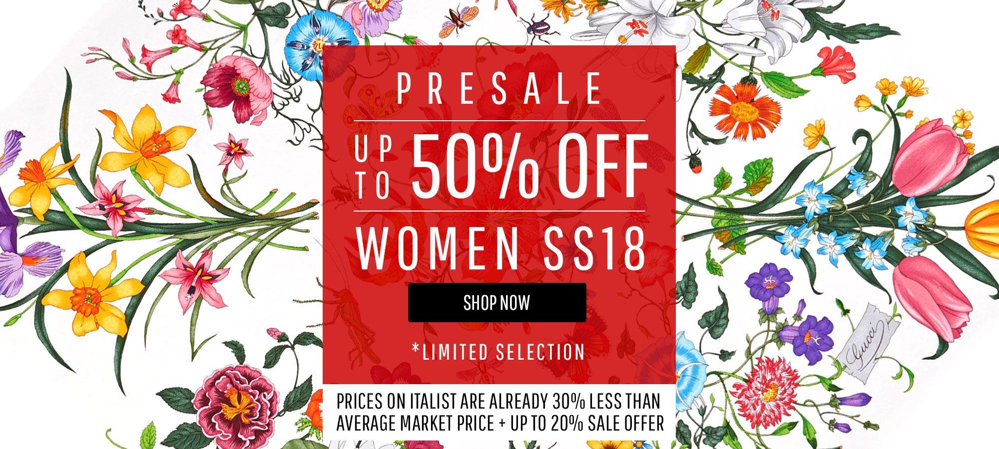 Women Sale - Spring Summer 2018