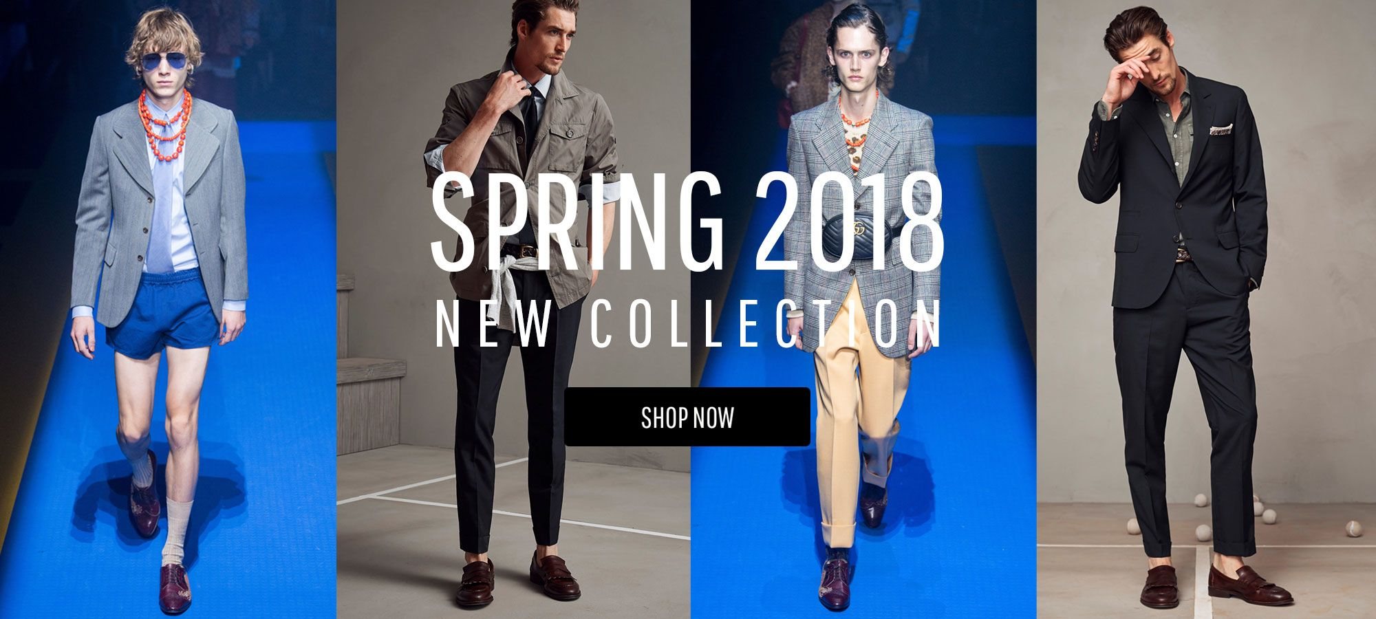 Men New Arrivals - Spring Summer 2018