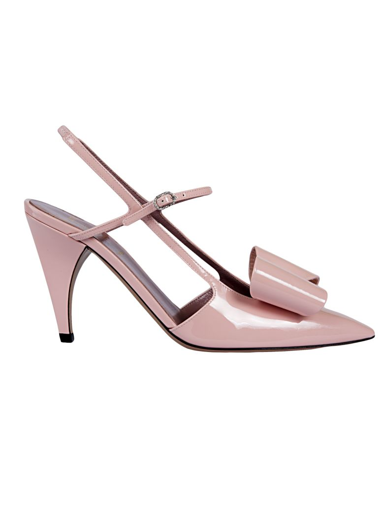 RAYNE LONDON BOW DETAIL PUMPS