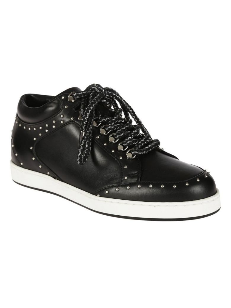 Jimmy Choo Jimmy Choo Miami Sneakers Black Silver