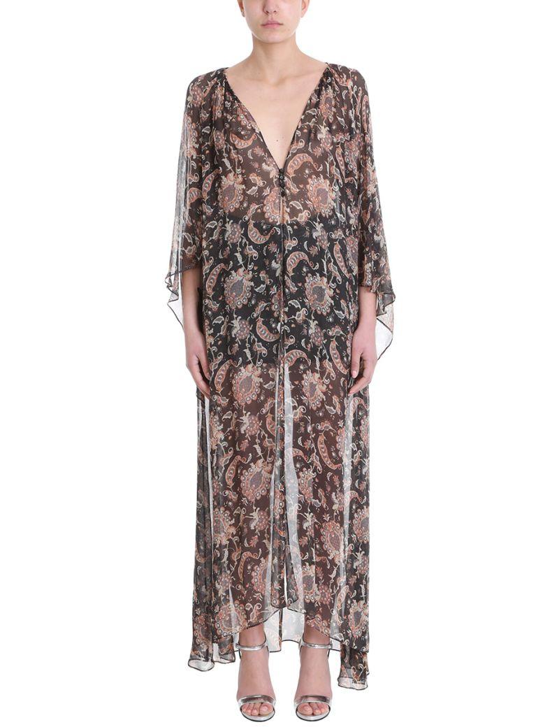 NICOLAS BESSON JOY FLOWERS SILK DRESS
