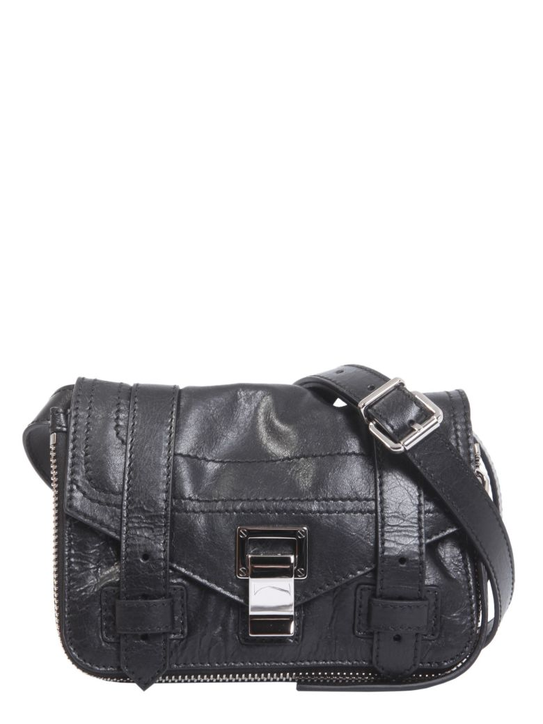 Proenza Schouler Ps1 Plus Mini Crossbody Bag In Black  f7369371d804a
