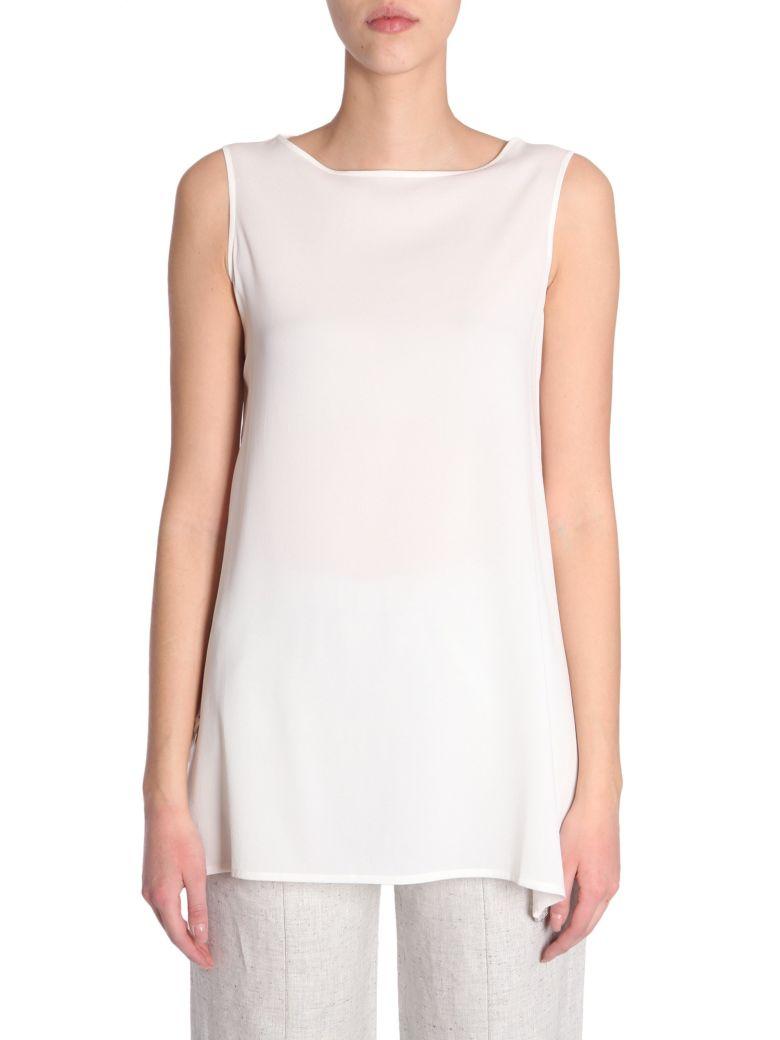 Silk Top in White