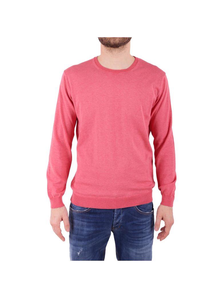 DANIELE FIESOLI Cotton Sweater in Light Red