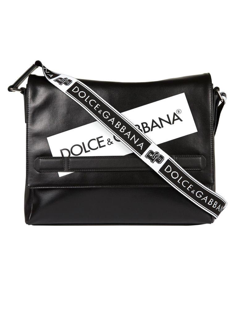 c5f8699527 DOLCE   GABBANA LOGO SHOULDER BAG