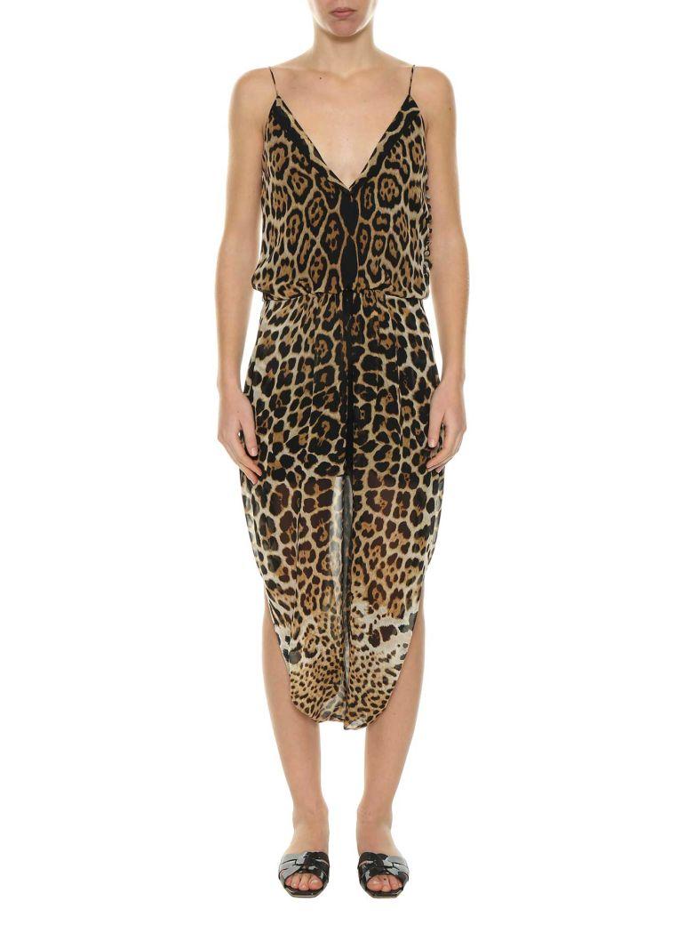 SAROUELLE LEOPARD DRESS