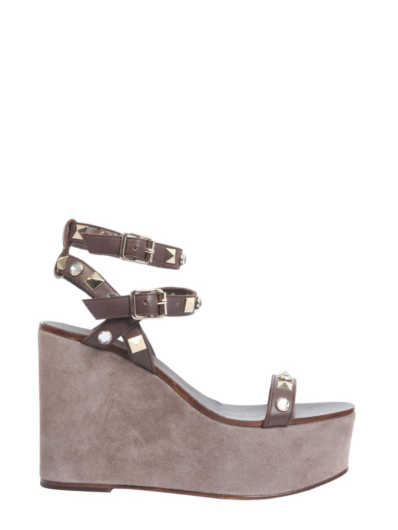 TOUCH WEDGE SANDALS