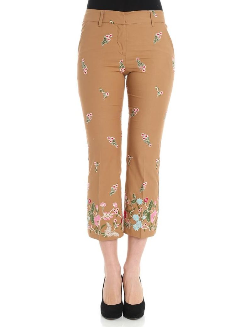 TRUE ROYAL - Amber Trousers in Beige