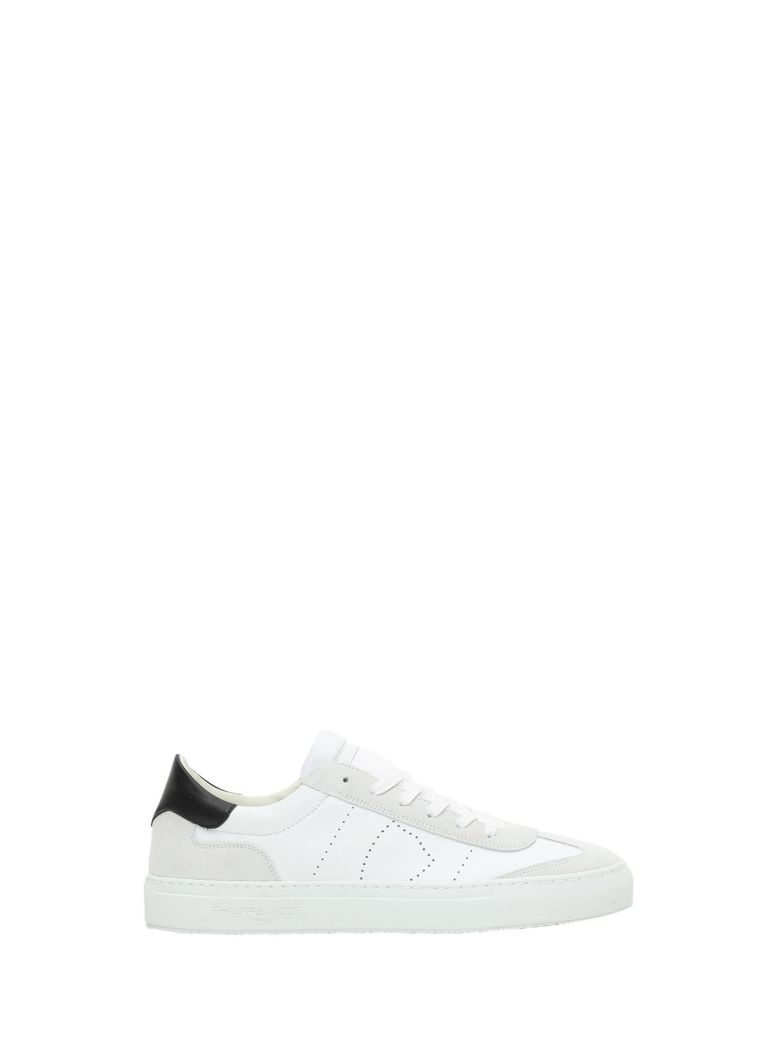 PHILIPPE MODEL White Belleville Leather Sneakers