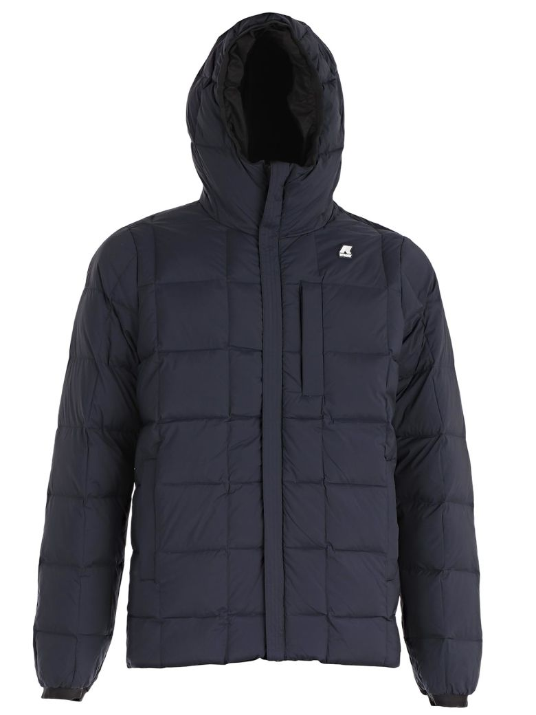 K-WAY LOGO PADDED JACKET