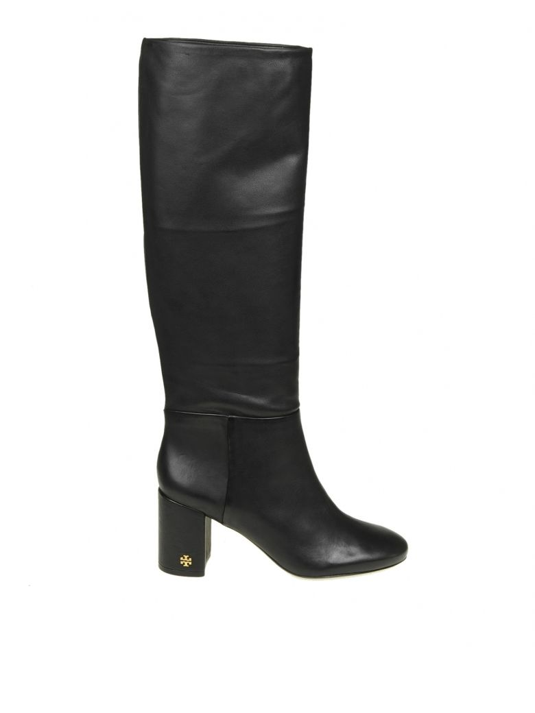 BROOKE SLOUCHY BOOTS IN BLACK NAPPA