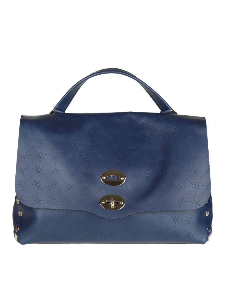 POSTINA M ASTRO IN LEATHER COLOR BLUE