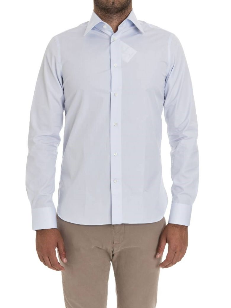 G. INGLESE G Inglese Cotton Shirt in Heavenly