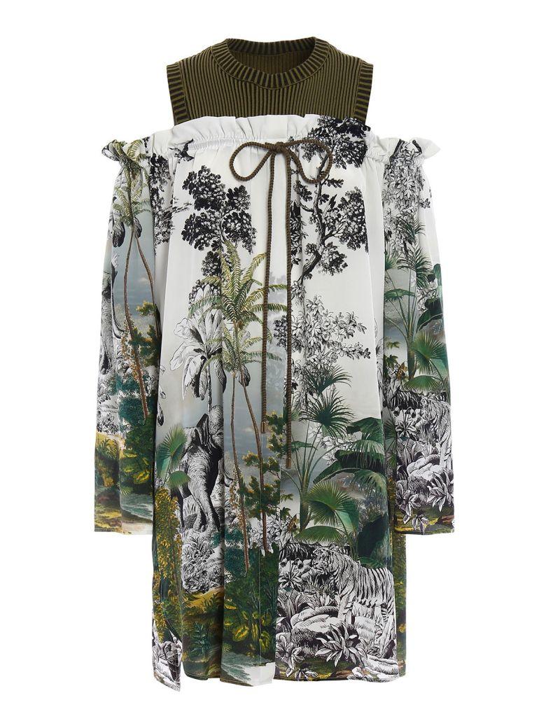 Alberta Ferretti  DOUBLE EFFECT DRESS
