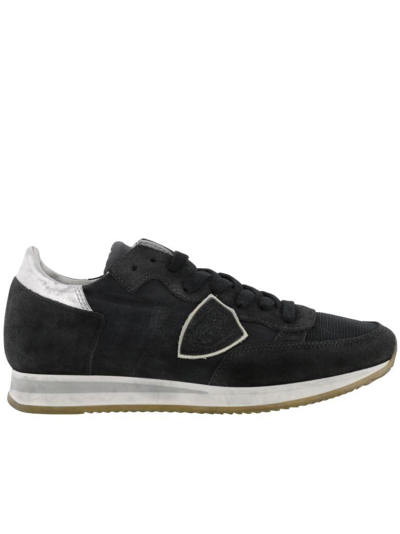 PHILIPPE MODEL Tropez Sneakers in Black