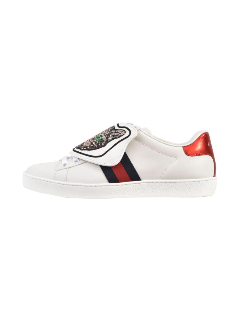Sequin Cat New Ace Sneakers