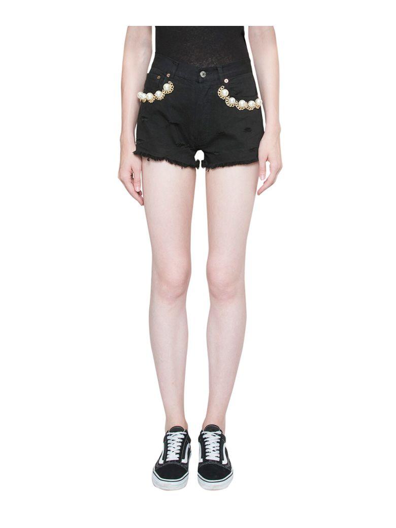 Forte Couture DENIM COTTON SHORTS