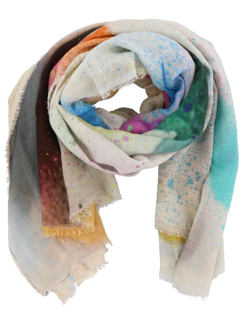 SPRAY HEART SCARF