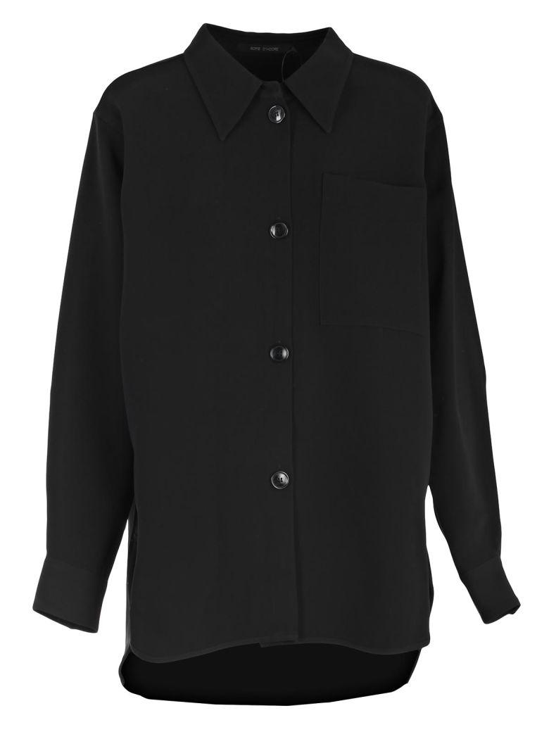 SOFIE D'HOORE Sofie D'Hoore Classic Shirt Jacket in Night Blue