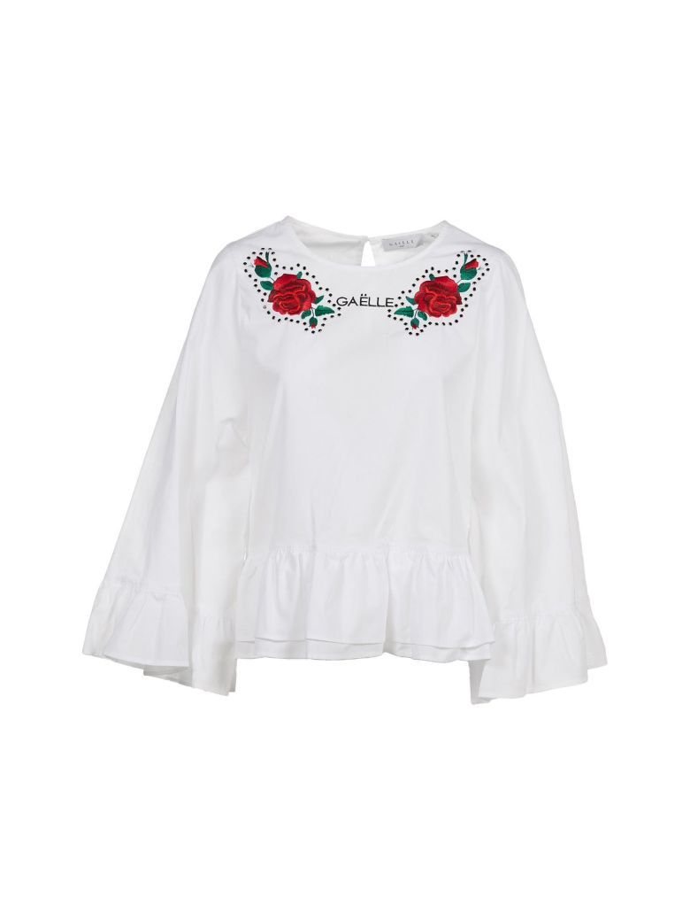 Gaëlle Bonheur ROSE EMBROIDERY BLOUSE