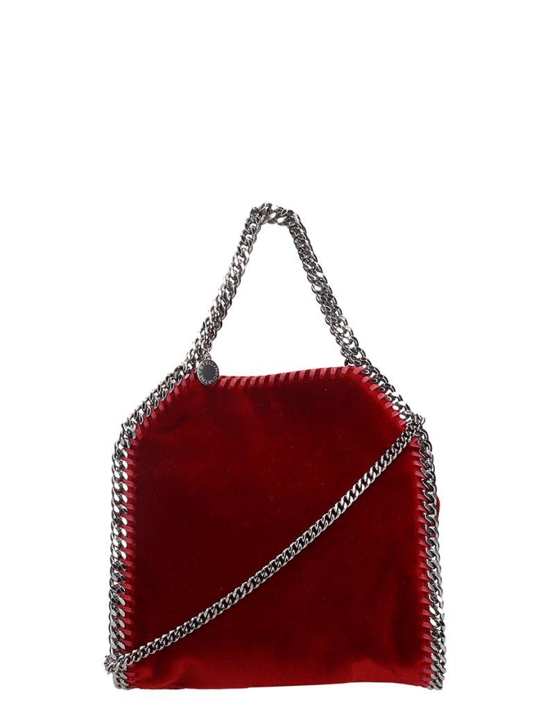 RED VELVET FALABELLA CROSSBODY BAG
