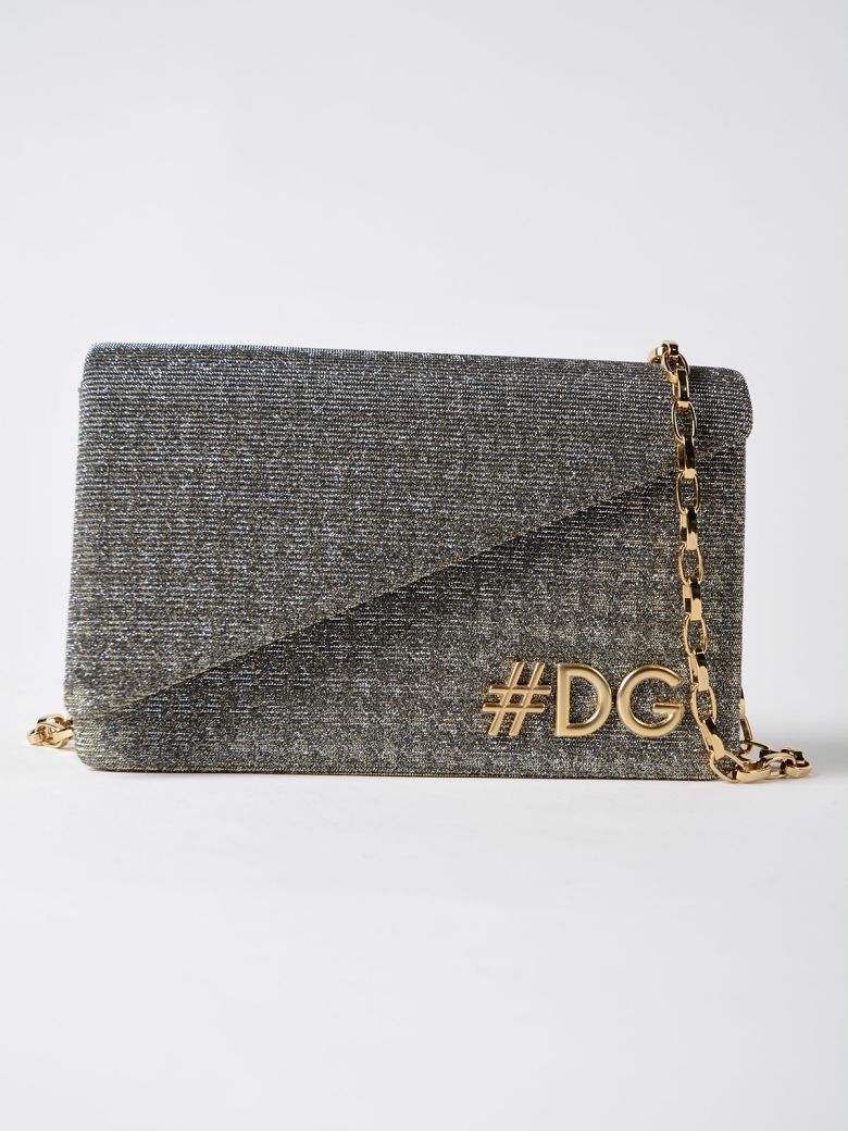 DG GIRLS GLITTER SHOULDER BAG