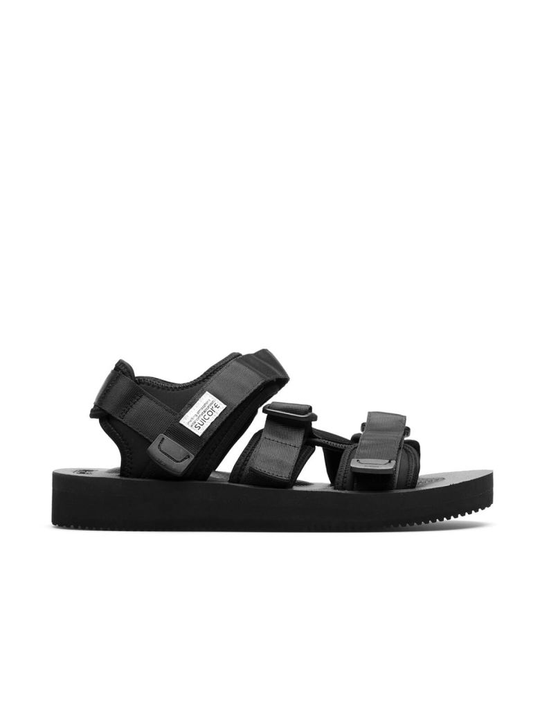 Suicoke Kisee-V Neoprene Sandals In Black  d399cfad2