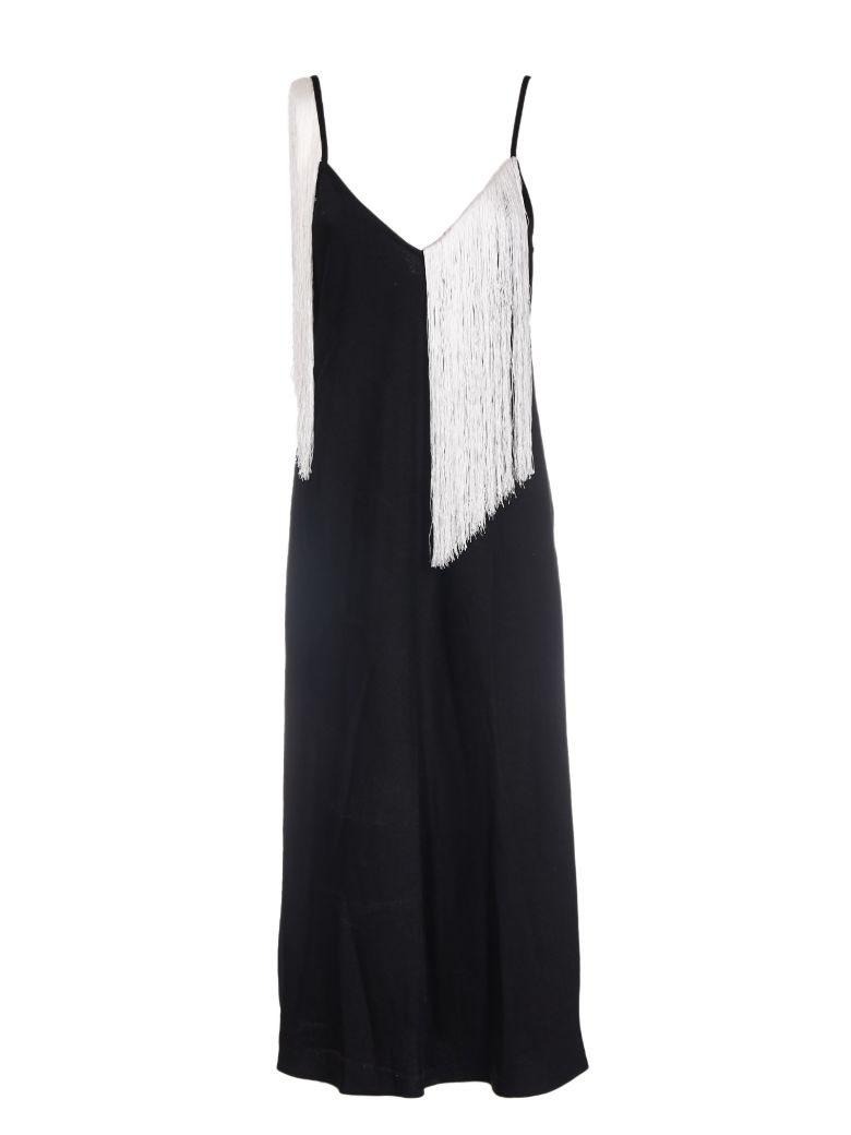 FRINGE SLIP DRESS