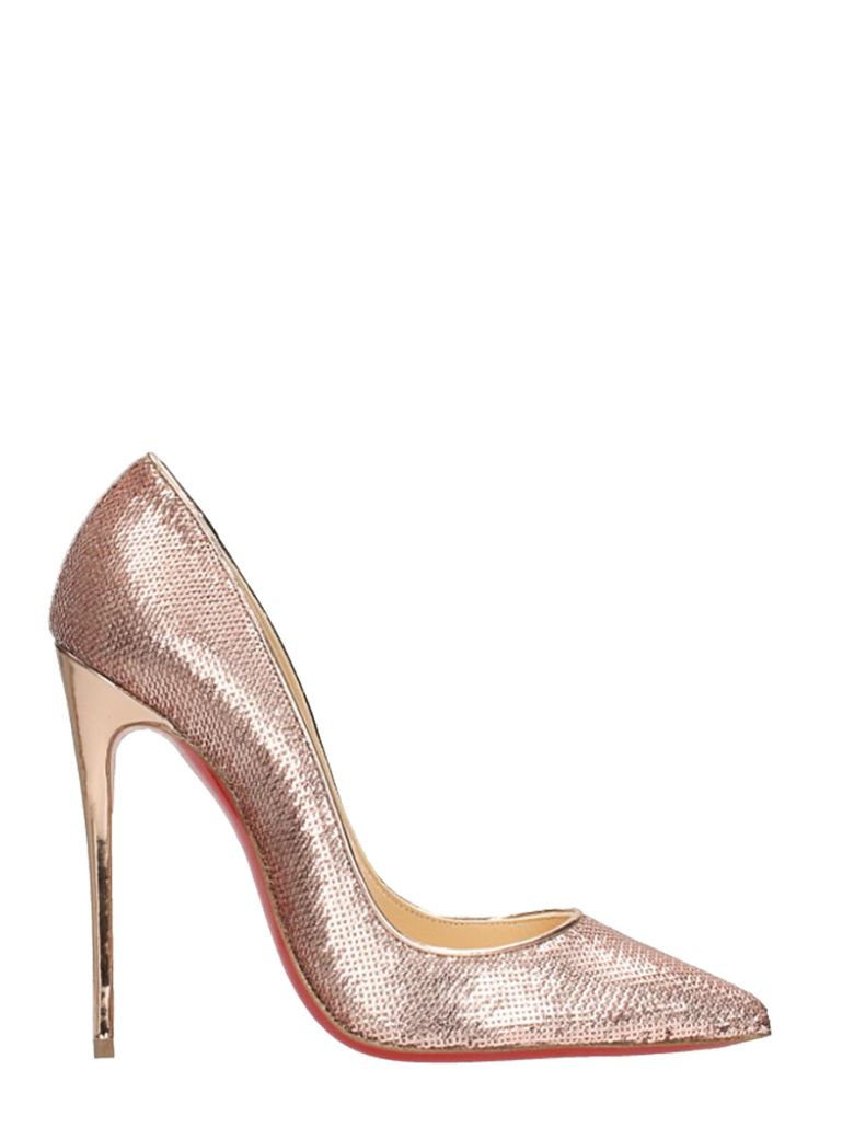 SO KATE SEQUINS 100 PUMPS