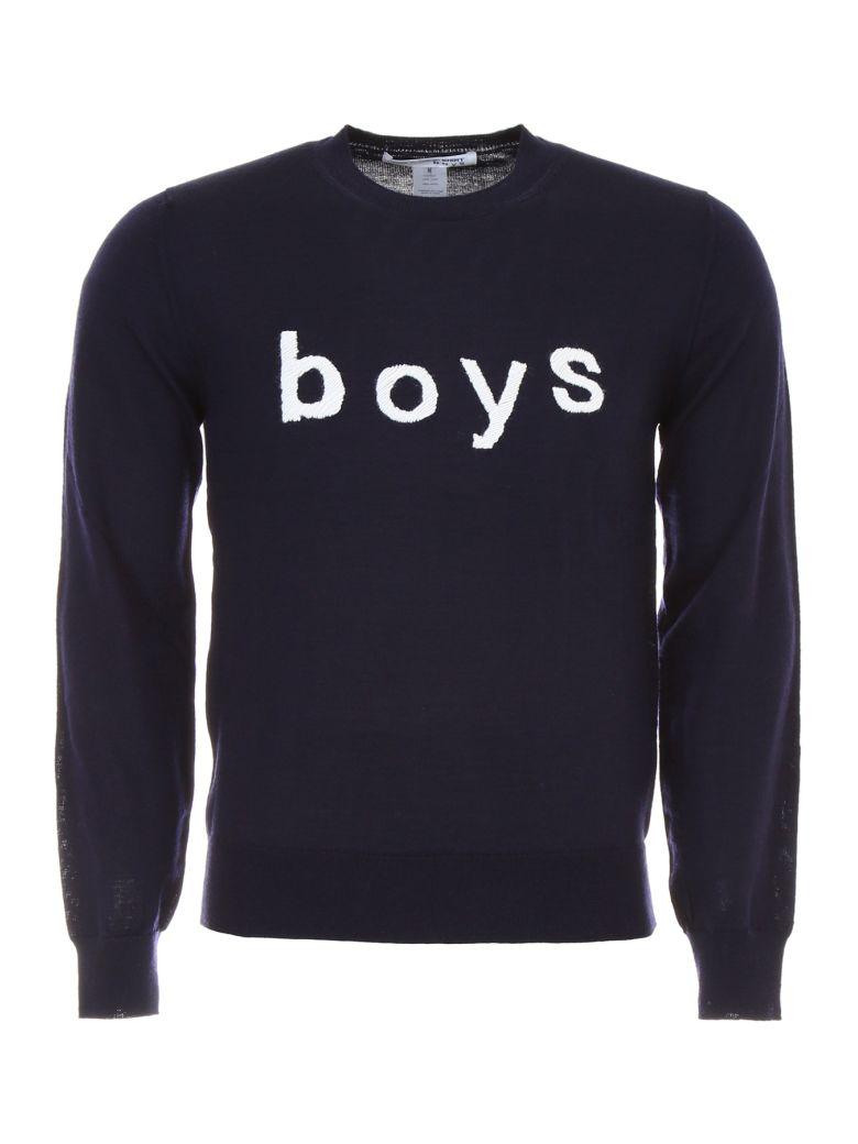 COMME DES GARÇONS BOYS Boys Pullover in Navy