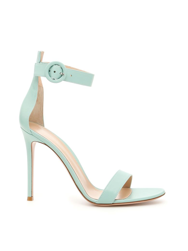 003acc4fadaa Gianvito Rossi Portofino 105 Sandals In Pacific