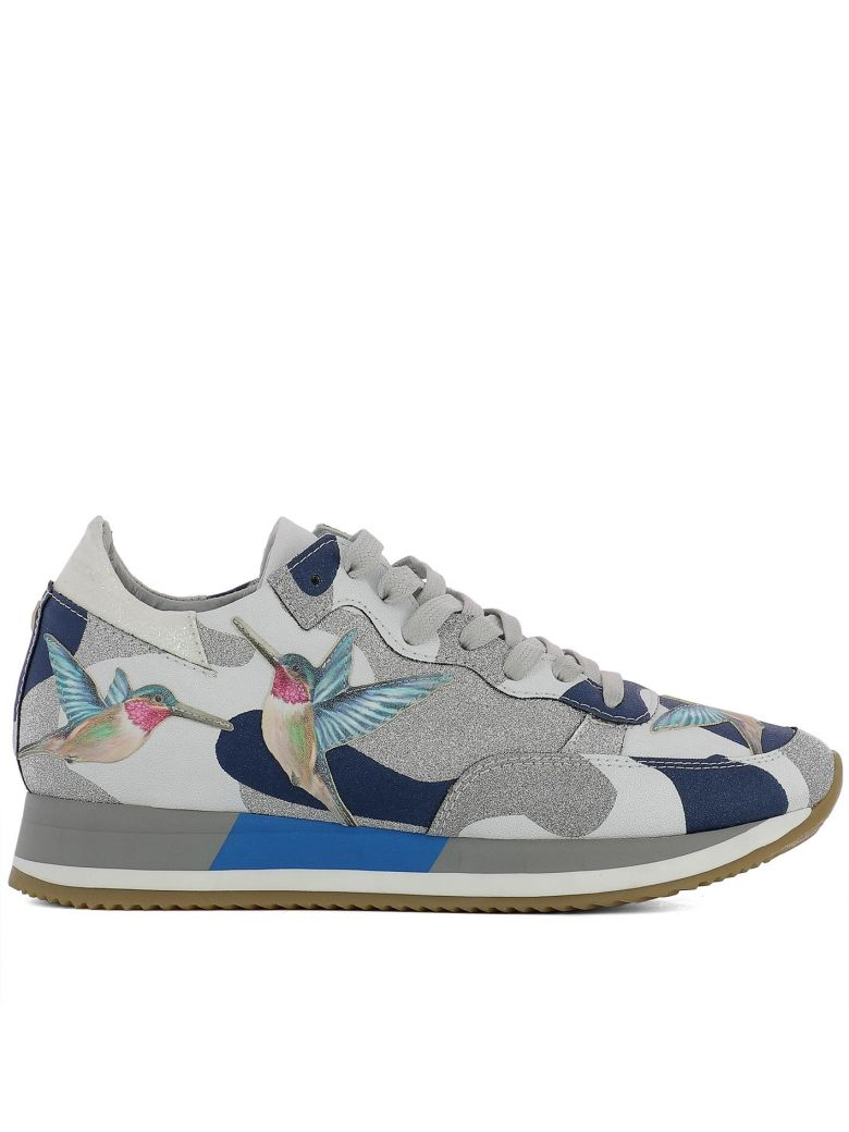Philippe Model  MULTICOLOR LEATHER SNEAKERS